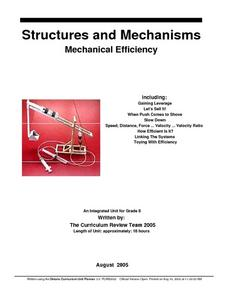 Structures And Mechanisms Lesson Plan