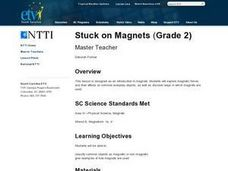 Stuck on Magnets Lesson Plan