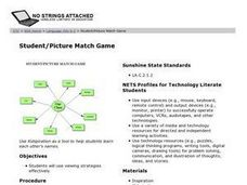 Student/Picture Match Game Lesson Plan