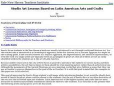 Studio Art Lessons Based on Latin American Arts Lesson Plan