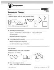 Study Buddies: Congruent Figures Lesson Plan