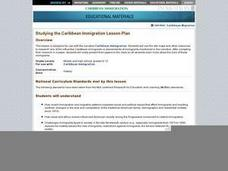 Studying the Caribbean Immigration Lesson Plan Lesson Plan