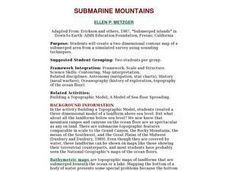 SUBMARINE MOUNTAINS Lesson Plan