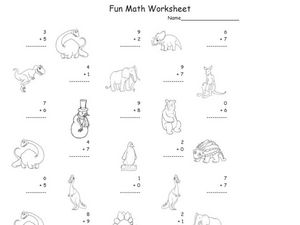 Subtraction, 2 Digit Subtraction 4 Worksheet