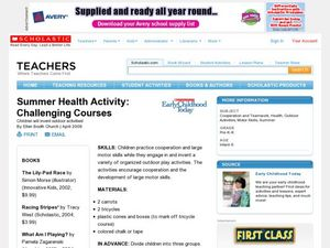 Summer Health Activity: Challenging Courses Lesson Plan