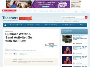 Summer Water & Sand Activity: Go with the Flow Lesson Plan