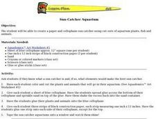 Sun-Catcher Aquarium Lesson Plan