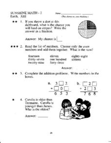 math worksheet : math superstars 3rd grade worksheets  educational math activities : Math Superstars Worksheets