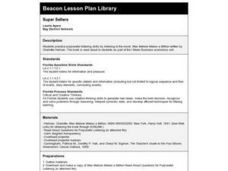 Super Sellers Lesson Plan