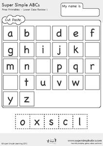 math worksheet : kindergarten printable abc worksheets  worksheets : Kindergarten Abc Worksheets