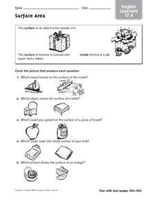 Surface Area ELL 17.4 Worksheet