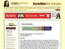 Surreal Hands Lesson Plan