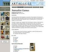 Surrealist Games Lesson Plan