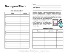 Survey and Share Lesson Plan