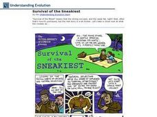 Survival of the Sneakiest Worksheet