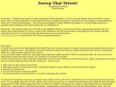 Sweep That Street! Lesson Plan