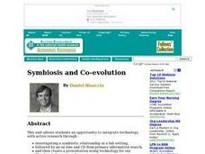 Symbiosis and Co-evolution Lesson Plan