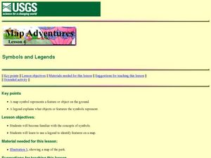 Symbols and Legends Lesson Plan