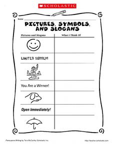 Symbols and Meanings Worksheet