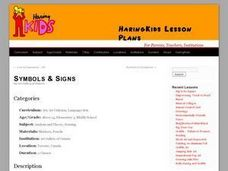 Symbols and Signs Lesson Plan