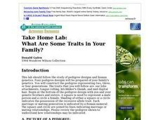 Take Home Lab: What Are Some Traits in Your Family? Lesson Plan