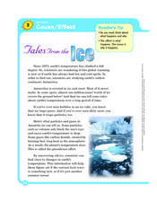 Tales from the Ice Worksheet