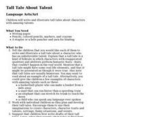 Tall Tale About Talent Lesson Plan