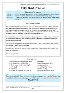 Tally Chart Practice Worksheet