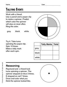 Tally Events Worksheet