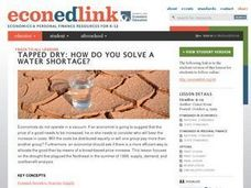 Tapped Dry: How Do You Solve a Water Shortage? Lesson Plan