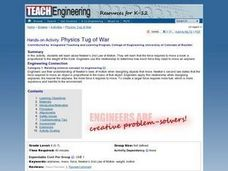 TE Activity: Physics Tug of War Lesson Plan