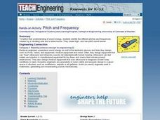 TE Activity: Pitch and Frequency Lesson Plan
