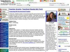 Teacher Grants: Teachnet Ready-Set-Tech Lesson Plan