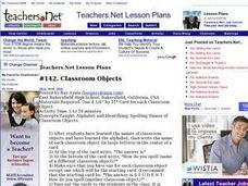 Teachers.Net Lesson Exchange: Classroom Objects (other, other Lesson Plan
