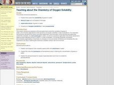 Teaching about the Chemistry of Oxygen Solubility Lesson Plan