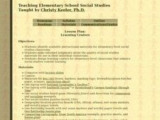 Teaching Elementary School Social Studies Lesson Plan