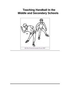 Teaching Handball Lesson Plan