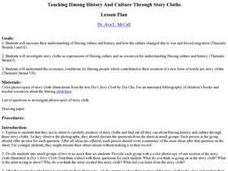 Teaching Hmong History And Culture Through Story Cloths Lesson Plan