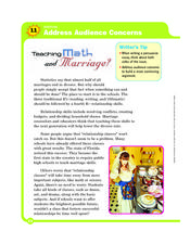 Teaching Math and Marriage? Worksheet