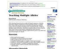 Teaching Multiple Alleles Lesson Plan