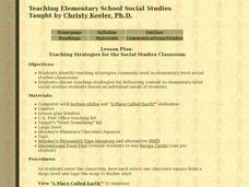 Teaching Strategies for the Social Studies Classroom Lesson Plan
