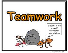 Teamwork Poster Printables & Template