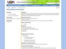TECH:Safety Factor Lesson Plan