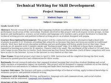 Technical Writing for Skill Development Lesson Plan