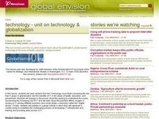 Technology and Globalization Lesson Plan