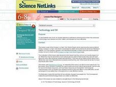 Technology and Oil Lesson Plan