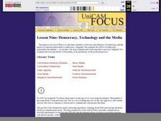Technology and the Media Lesson Plan