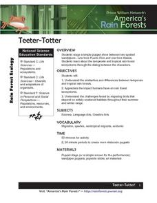 Teeter Totter Lesson Plan