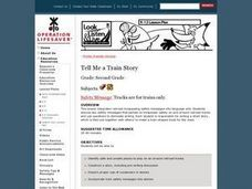 Tell Me a Train Story Lesson Plan