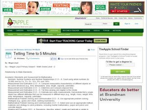 Telling Time to 5 Minutes Lesson Plan